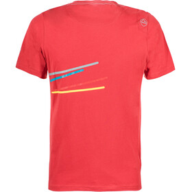 La Sportiva Stripe 2.0 T-Shirt Men Cardinal Red